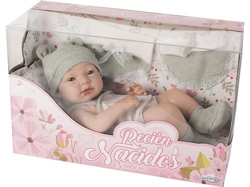Bebé neonato grigio - cm. 36