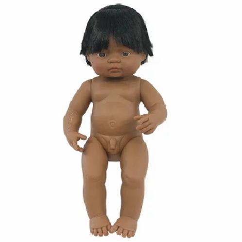 Bambola cm.38 latino-americana maschio