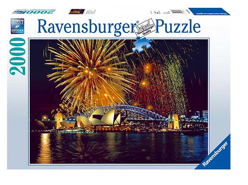 Puzzle 2000 pz. - Fuochi di artificio a Sidney