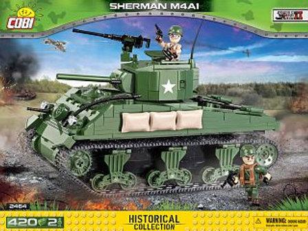 COBI Army 2464A Carro Sherman M4A1