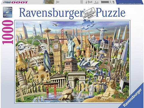 1000 pz. Raven Monumenti del Mondo