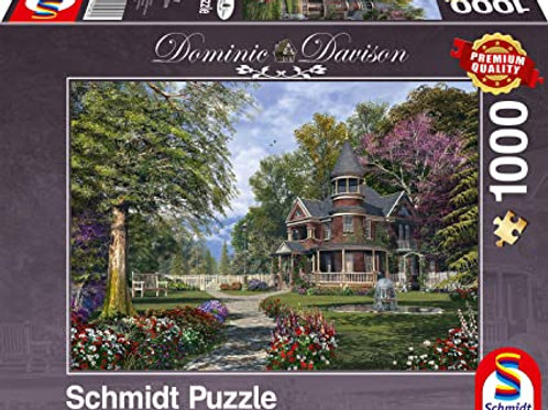 Puzzle 1000 pz. - Villa con torretta