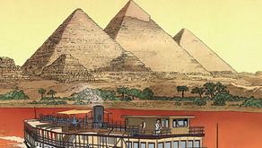 """Komiks """"Agatha Christie. Śmierć na Nilu"""""""