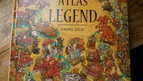 """""""Atlas Legend. Tom 1"""" Paweł Zych, wydawnictwo Bosz"""
