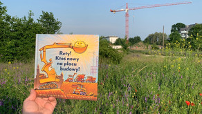 """Rety! Ktoś nowy na placu budowy!"" Sheri Duskey Rinker i Tom Lichtenheld"