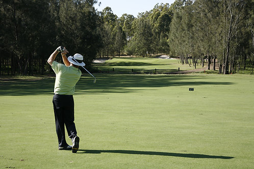 18 hole playing lesson