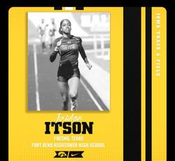 Congrats Jaiden Itson