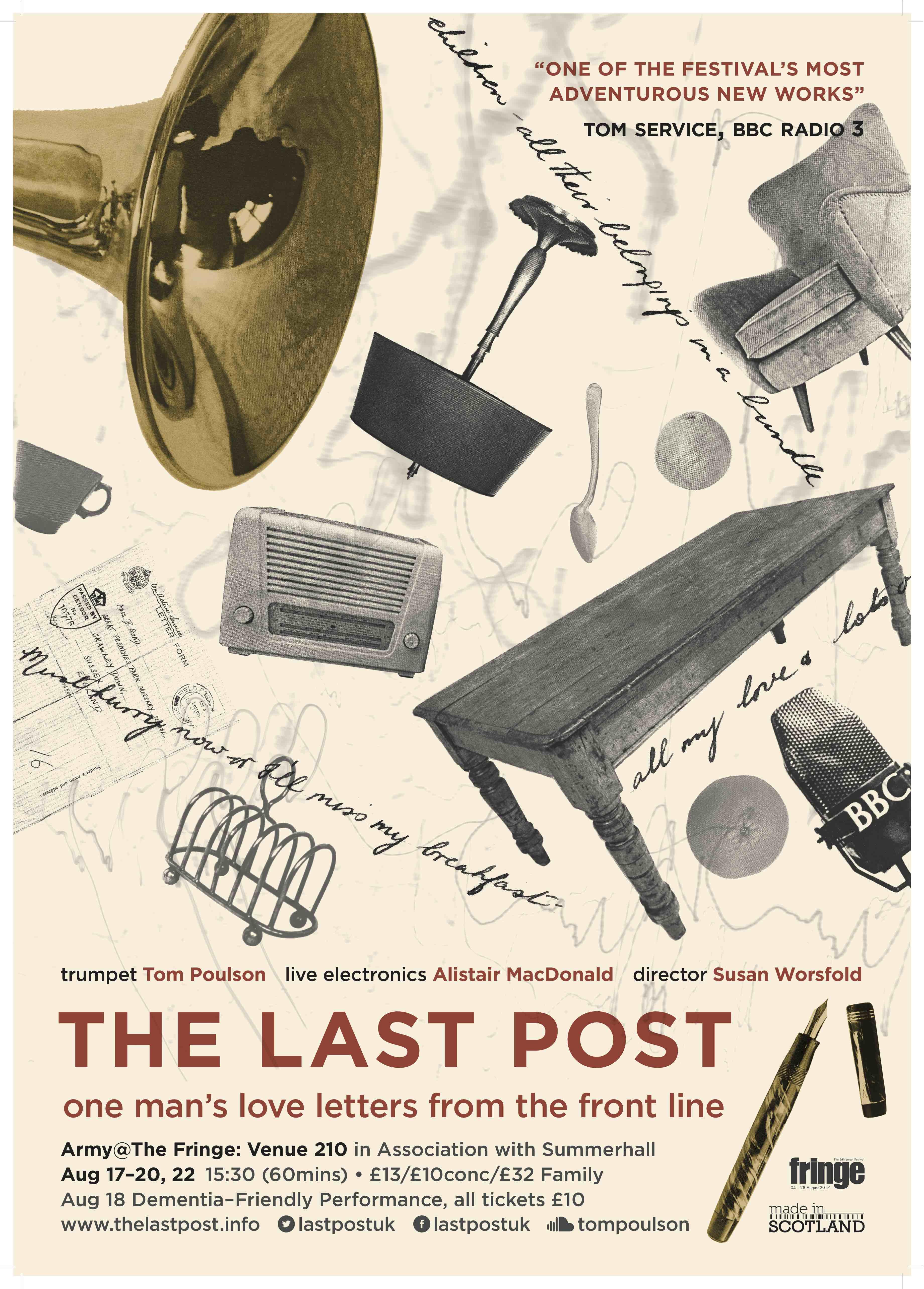 Last Post EdFringe Poster
