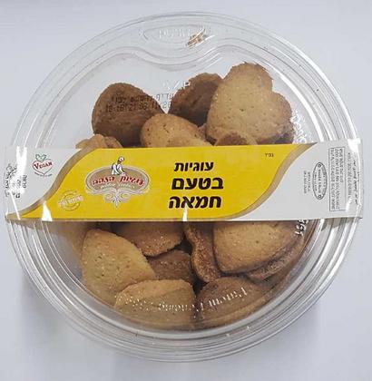 """עוגיות הזהב בטעם חמאה 600 גר' בד""""ץ"""
