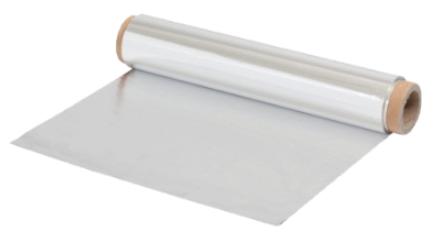 """נייר אלומיניום רוחב 45 ס""""מ 50 מטר"""