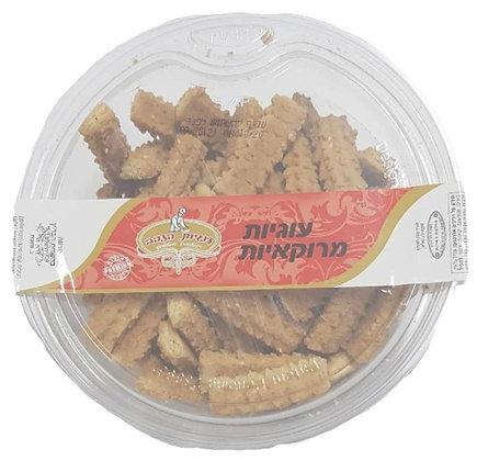 """עוגיות הזהב מרוקאיות 600 גר' בד""""ץ"""