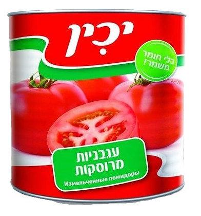 """עגבניות מרוסקות יכין 2.5 ק""""ג"""
