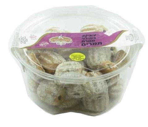 """עוגיות הזהב במילוי תמרים 600 גר' בד""""ץ"""