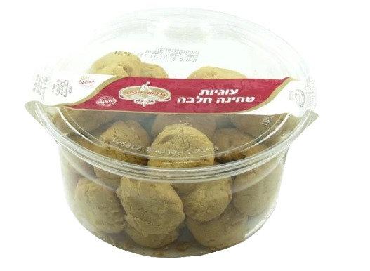 """עוגיות הזהב בטעם חלבה 600 גר' בד""""ץ"""
