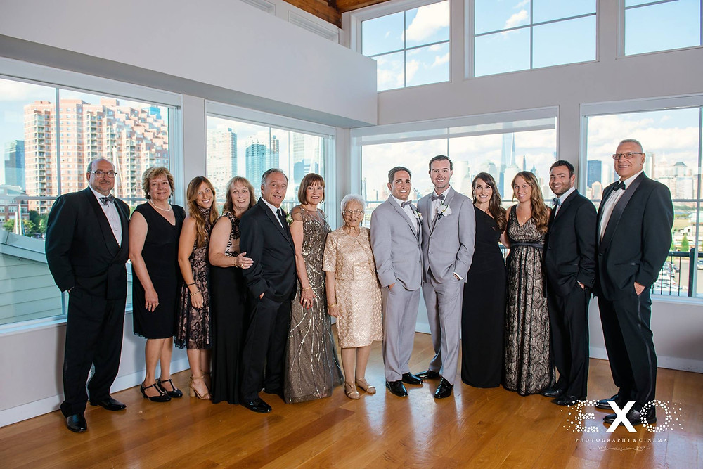 Gay Grooms and family