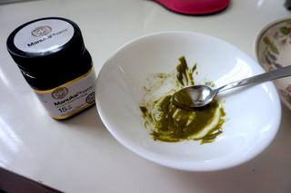 Face Mask DIY: Honey and Matcha Green Tea  Natural