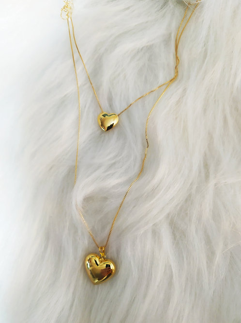 CHOCKER GOLD HEART
