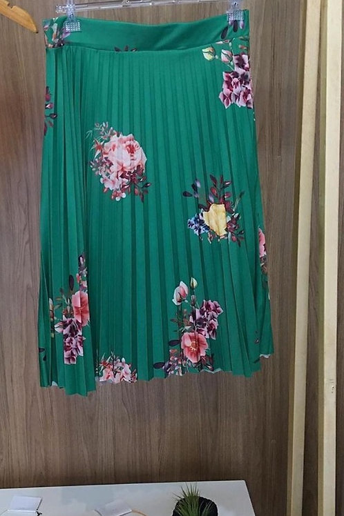 SAIA MIDI LEAF GREEN