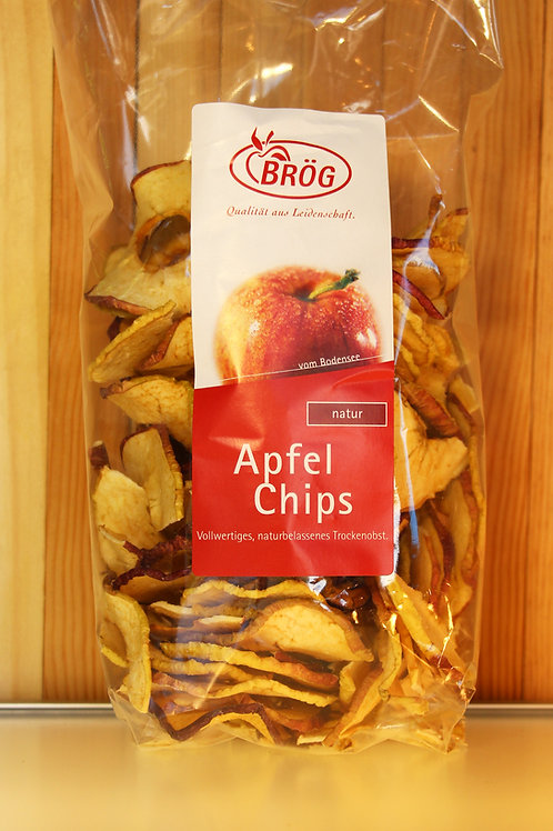 BRÖG Apfel-Chips (natur) / gross