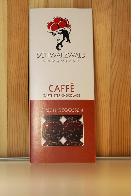 Schwarzwald Chocolade Caffè Zartbitter 60g