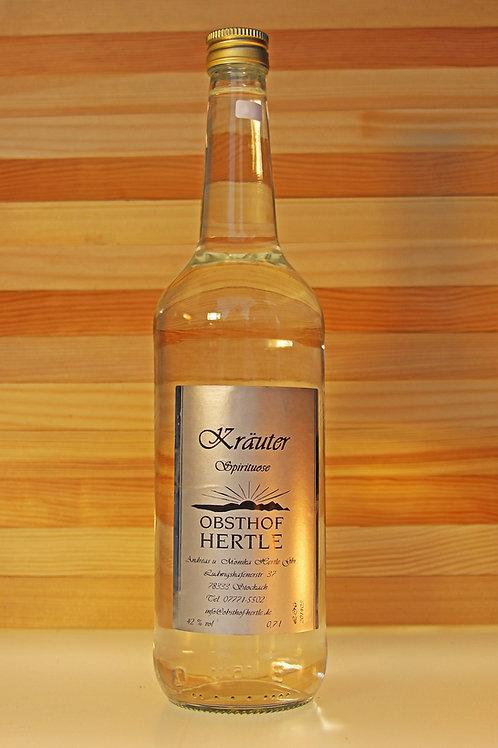 Hertle's Kräuter-Spirituose 0,7l