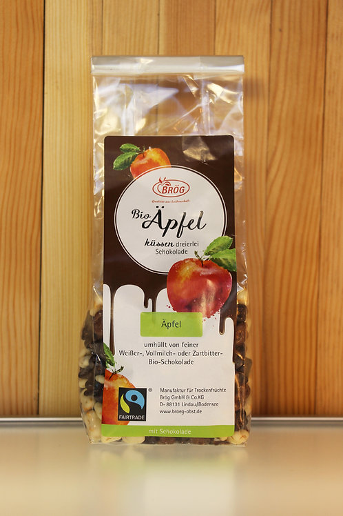 BRÖG Bio Äpfel küssen dreierlei Schokolade