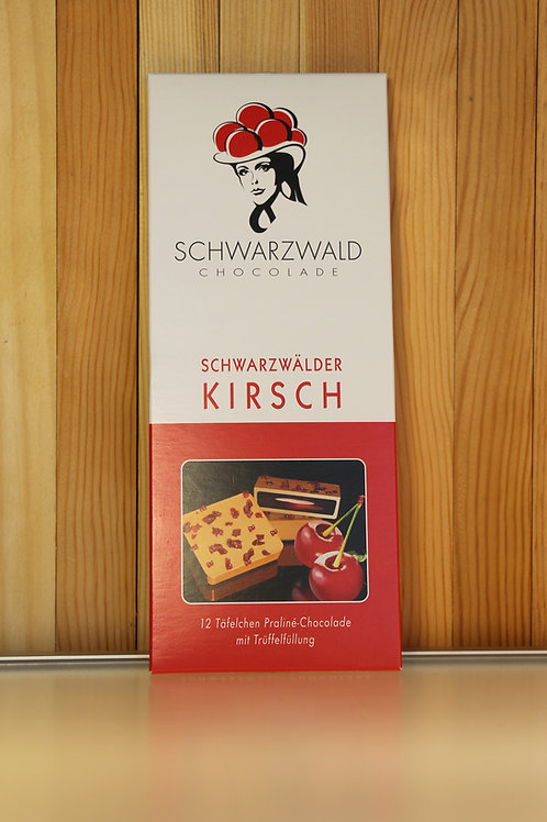 Schwarzwald Chocolade Schwarzwälder Kirsch 100g