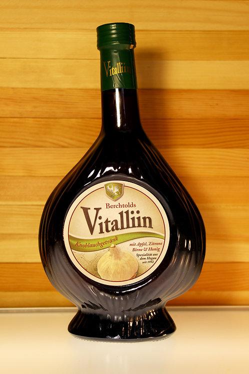 Berchtolds Vitaliin - Knoblauchgetränk mit Apfel, Zitrone, Birn, Honig (gross)