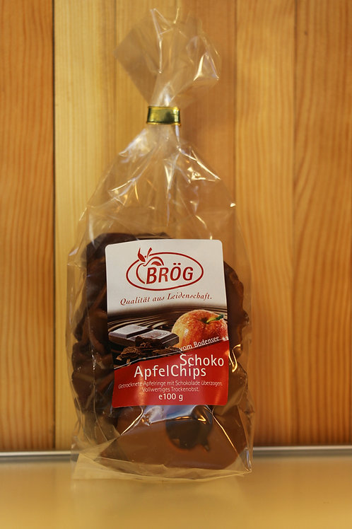BRÖG Schoko-Apfel-Chips (klein) zartbitter