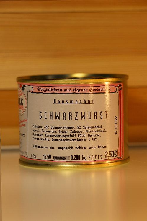 Metzgerei Walk - Hausmacher Schwarzwurst (klein)