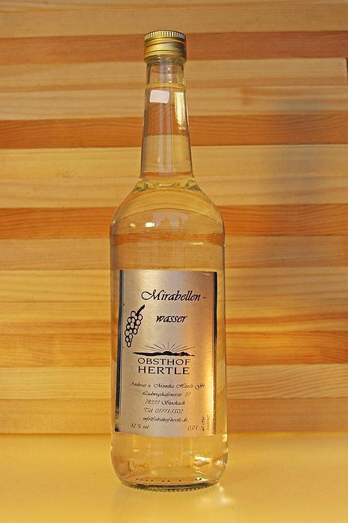 Hertle's Mirabellenwasser 0,7l