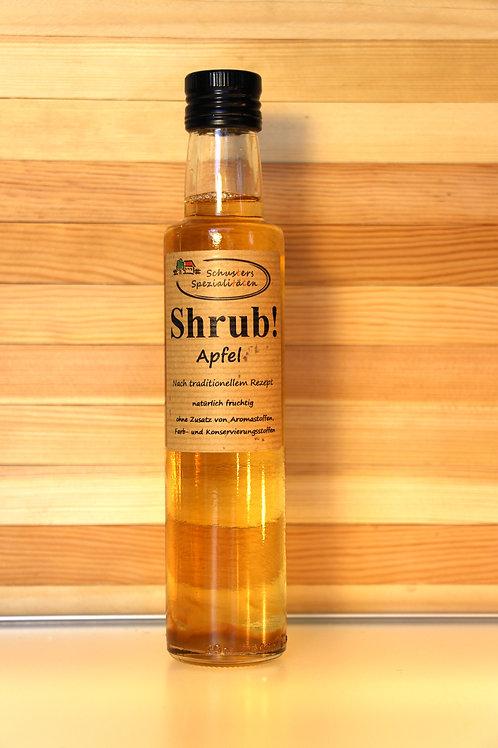 Schusters Spezialitäten - Shrub! Apfel Sirup