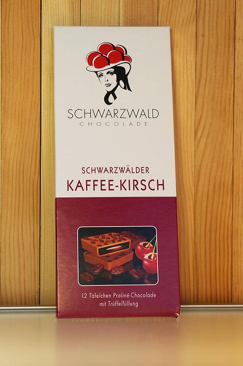 Schwarzwald Chocolade Schwarzwälder Kaffee-Kirsch 100g