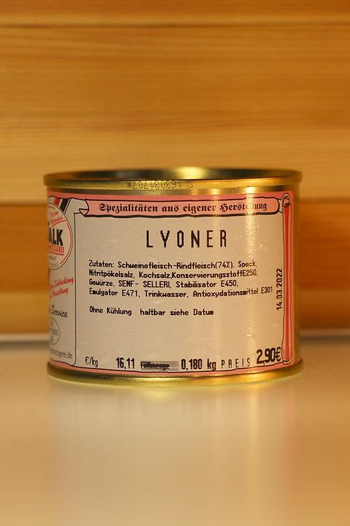 Metzgerei Walk - Lyoner (klein)