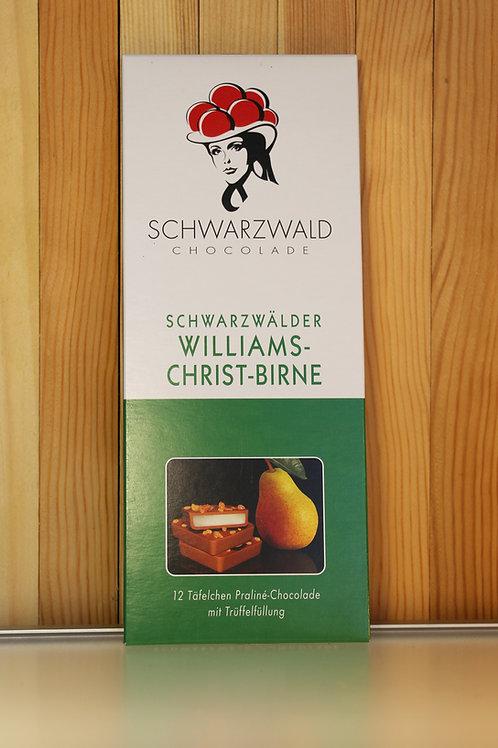 Schwarzwald Chocolade Schwarzwälder Williams-Christ-Birne 100g