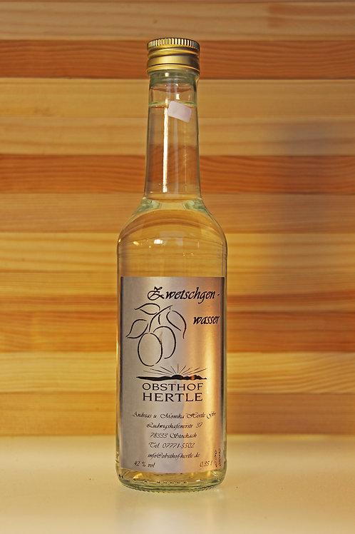 Hertle's Zwetschgenwasser 0,35l