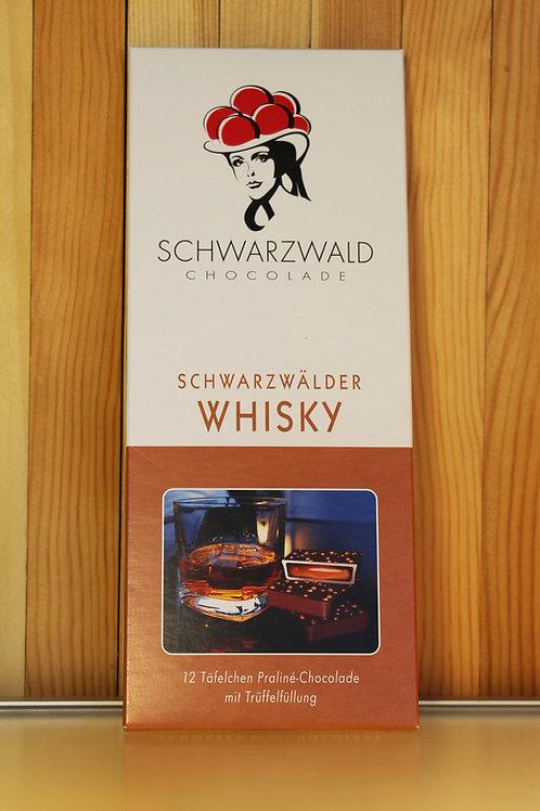 Schwarzwald Chocolade Schwarzwälder Whisky 100g