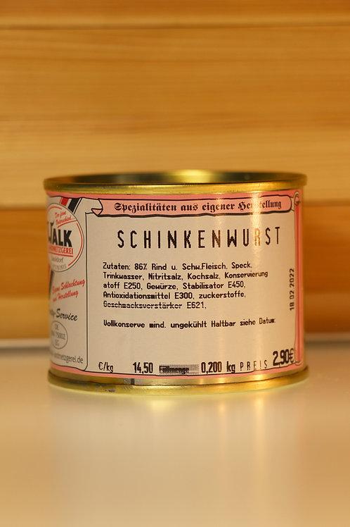 Metzgerei Walk - Schinkenwurst (klein)