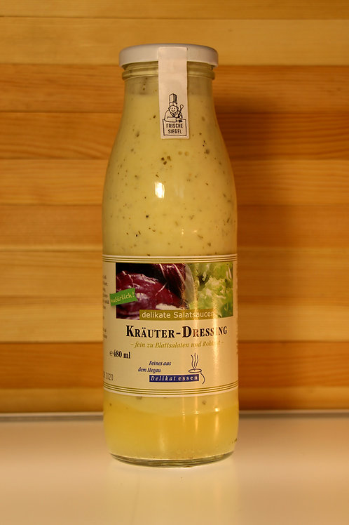 Kräuter-Dressing - fein zu Blattsalaten und Rohkost