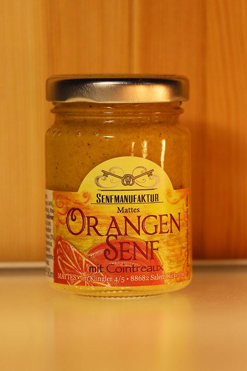 SENFMANUFAKTUR MATTES - Orangen Senf mit Cointreaux