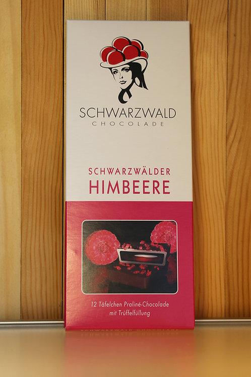 Schwarzwald Chocolade Schwarzwälder Himbeere 100g