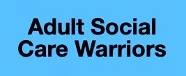 Adult social care warriors logo