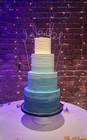 blue ombre buttercream