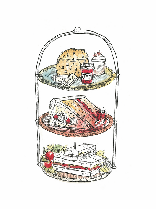 Full Afternoon Tea for two Voucher