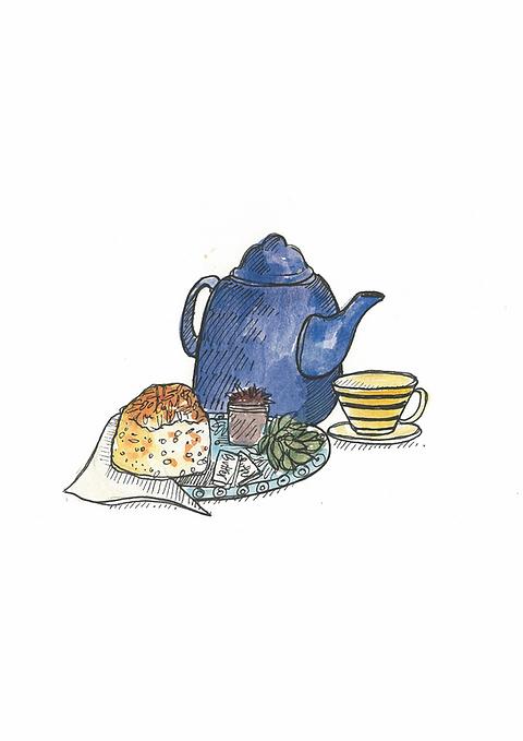 Savoury Tea For One Voucher Mysite Biddys