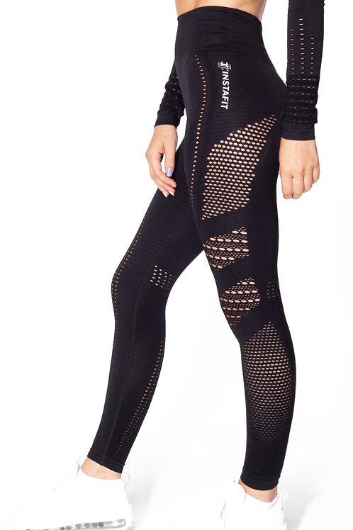 V2 Black Seamless Leggings