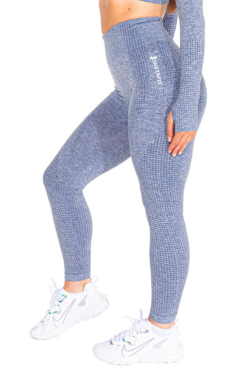Grey Kiss Seamless Leggings