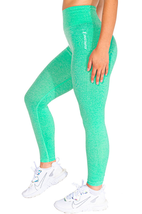 Green Kiss Seamless Leggings