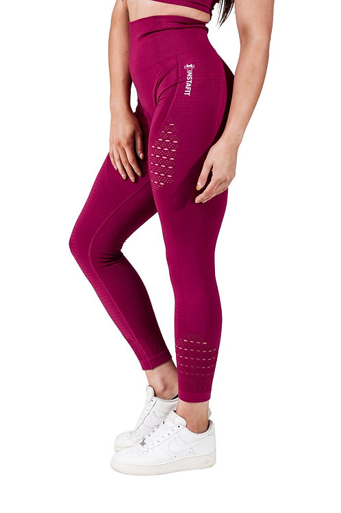 Red Beet Seamless Leggings