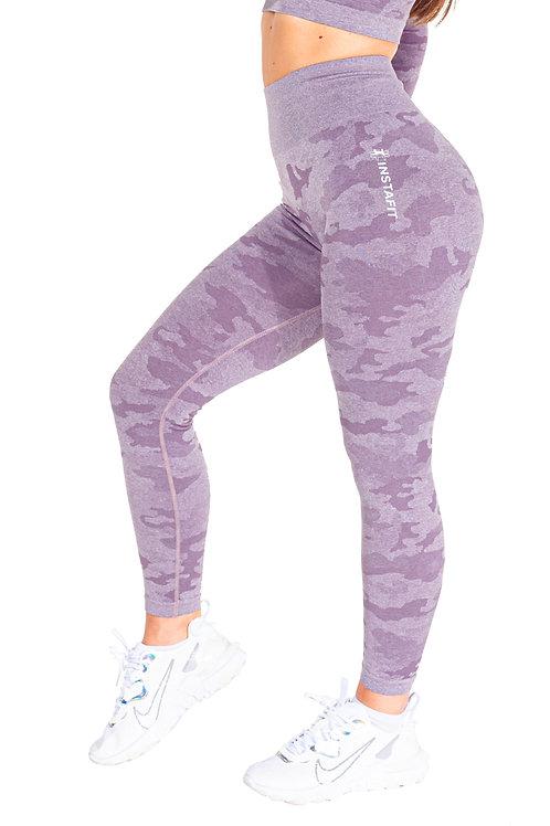 Lilac Camo Leggings